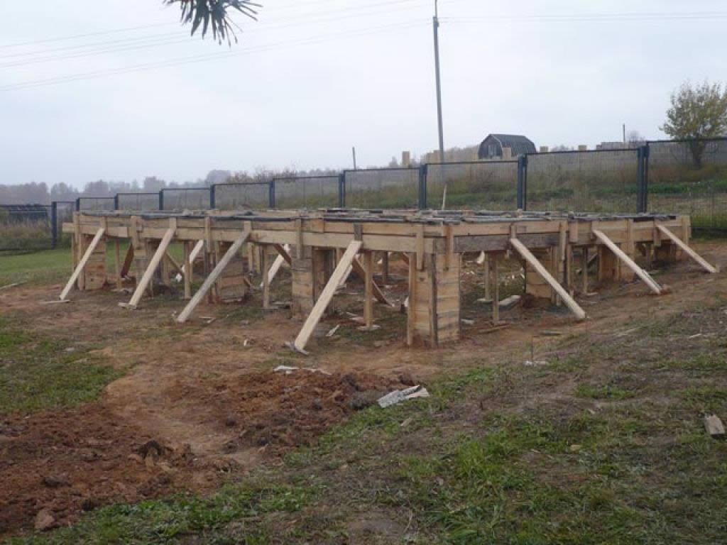 Какой фундамент лучше для дома из бруса на глинистой почве? - patsi.ru