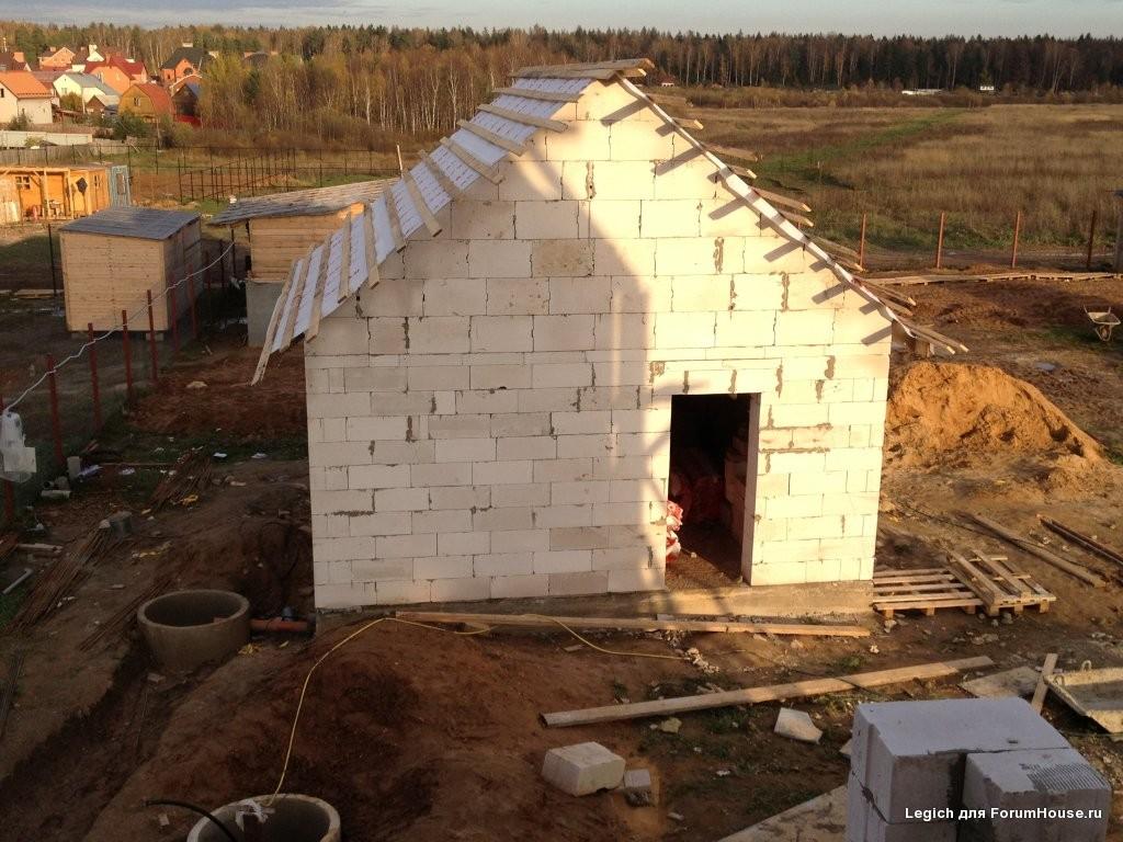 Можно ли строить баню из газобетона?