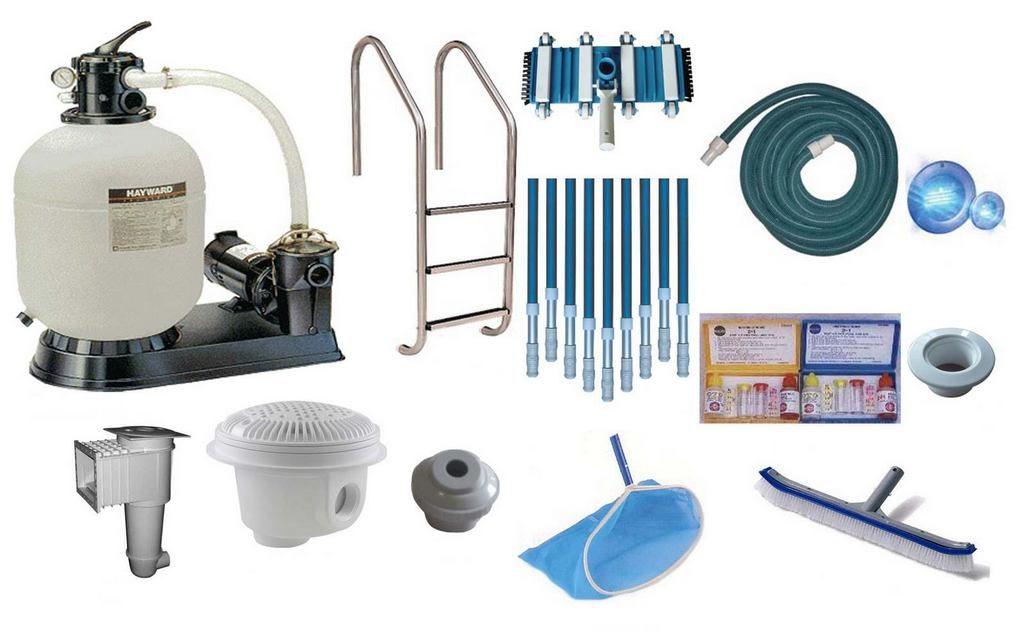 Оборудование для бассейнов: основное и дополнительное оснащение