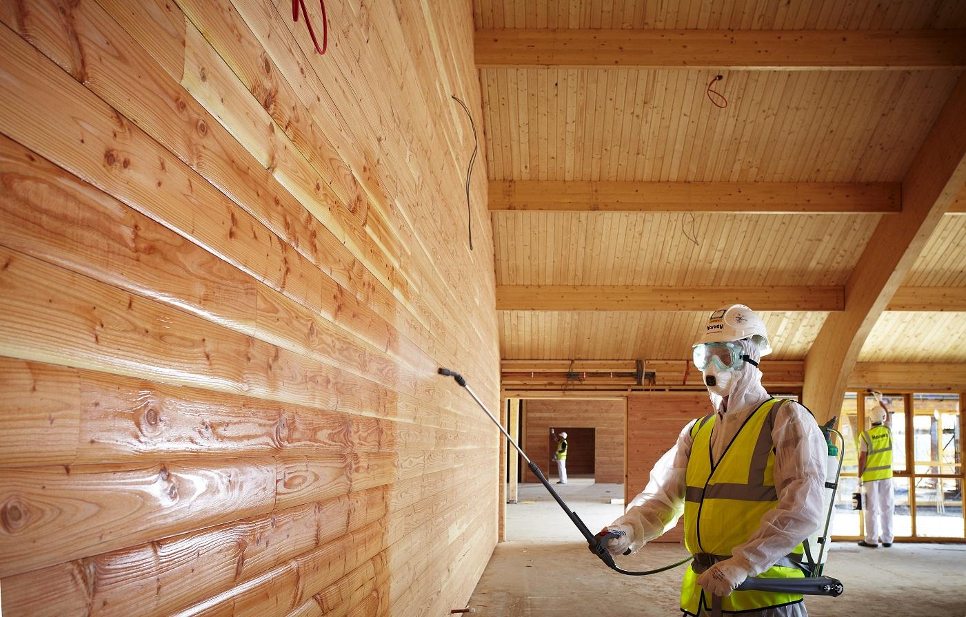 Чем обработать сруб бани снаружи: рекомендации строителей