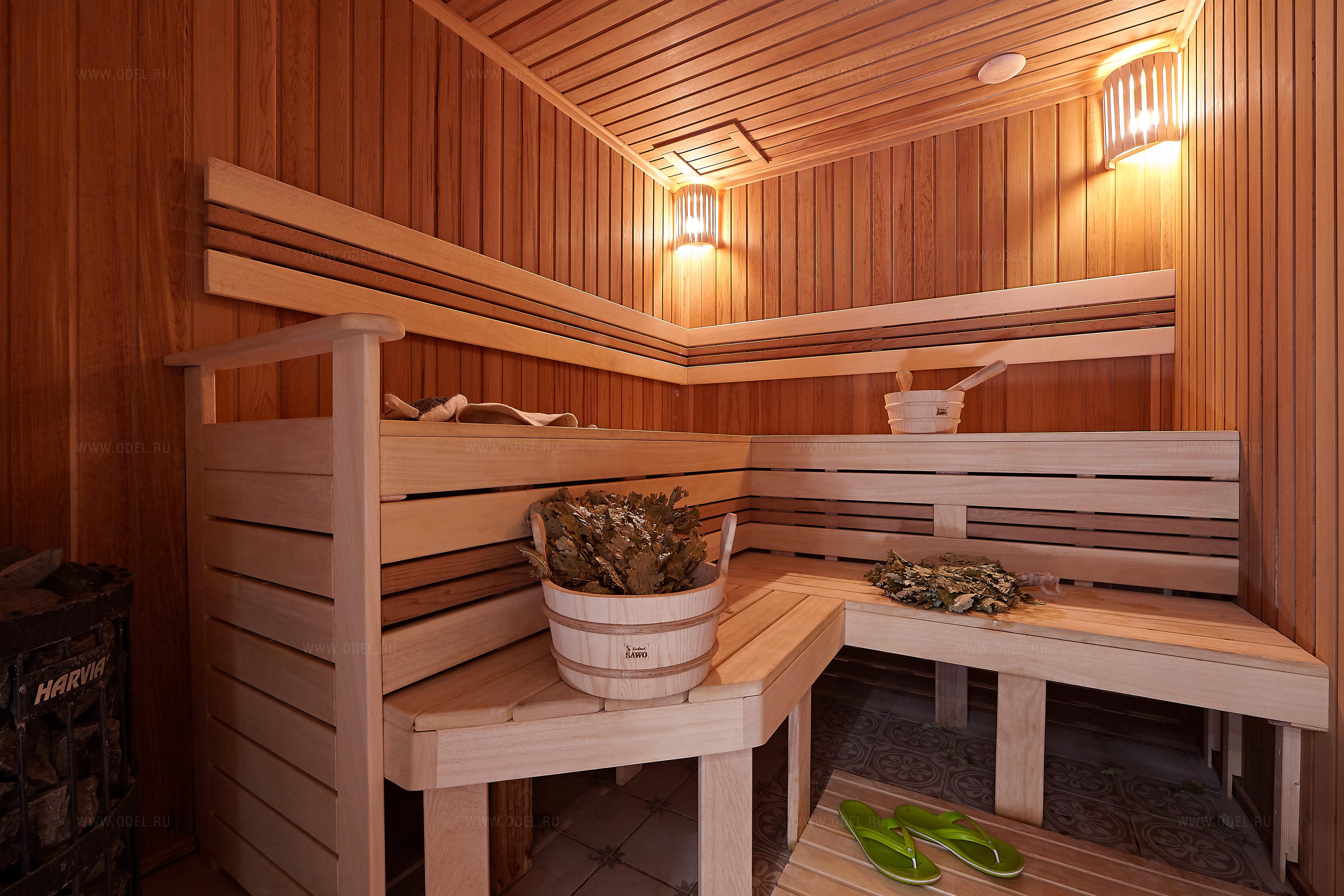 Внутренняя отделка бани из бруса своими руками