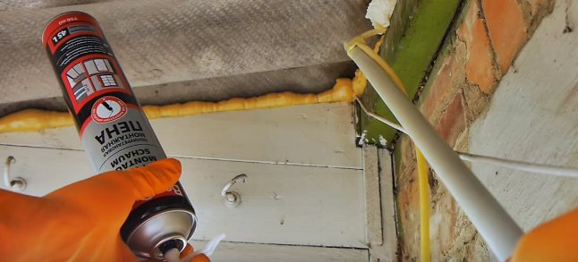Как правильно запенить щели - всё о балконе и ремонте