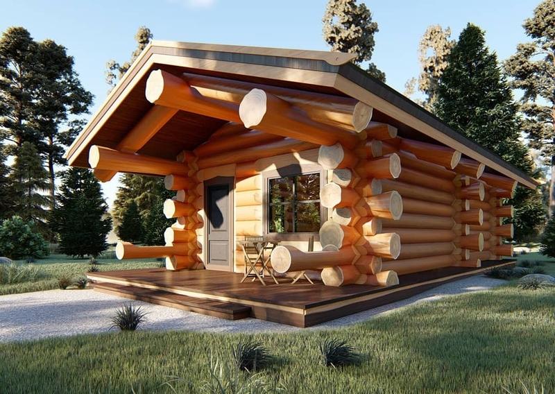 Проекты срубов для бань: планировка и особенности деревянных бань