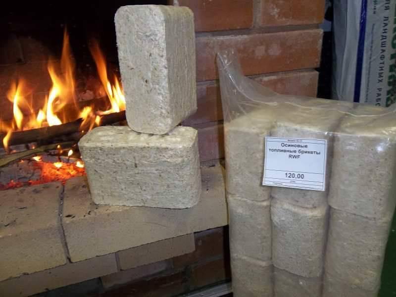 Брикеты для отопления: торфяные, из лузги, древесные и угольные