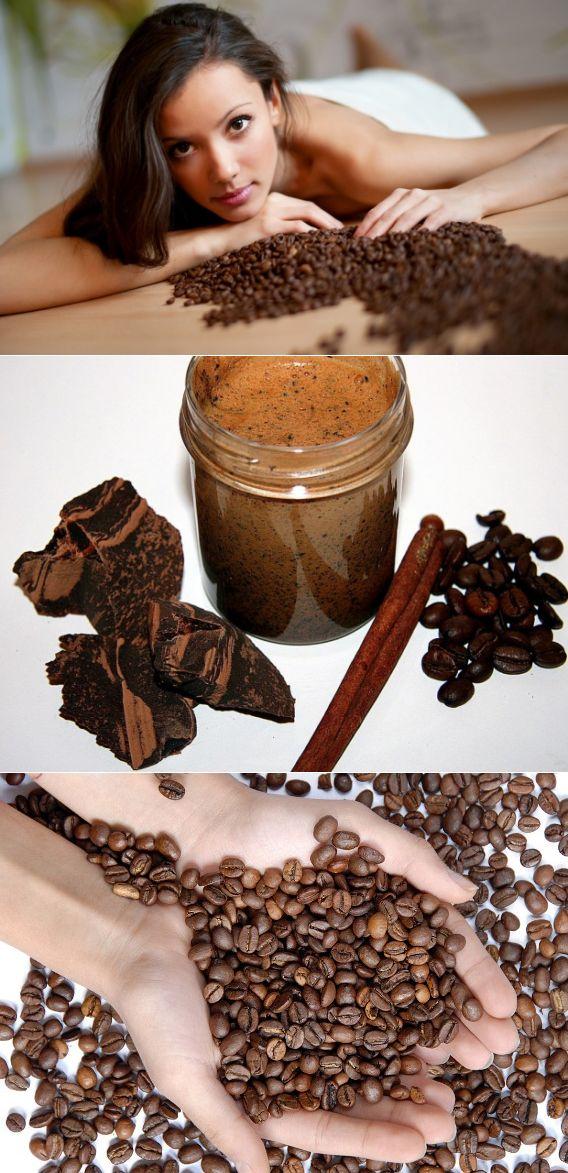 Кофейный скраб от целлюлита - топ 24 рецепта