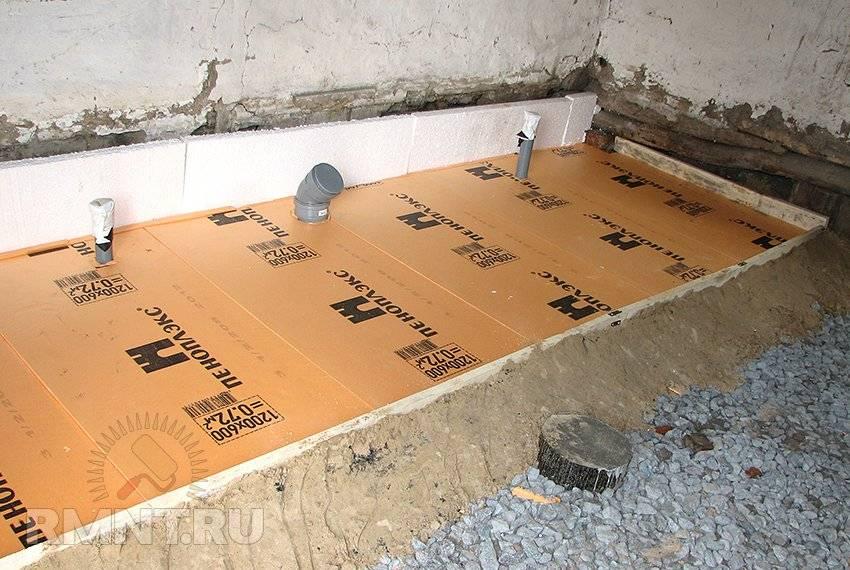 Стяжка на деревянный пол под плитку: как сделать сухую стяжку по перекрытию, можно ли уложить гвл, делать цсп в доме, фото и видео