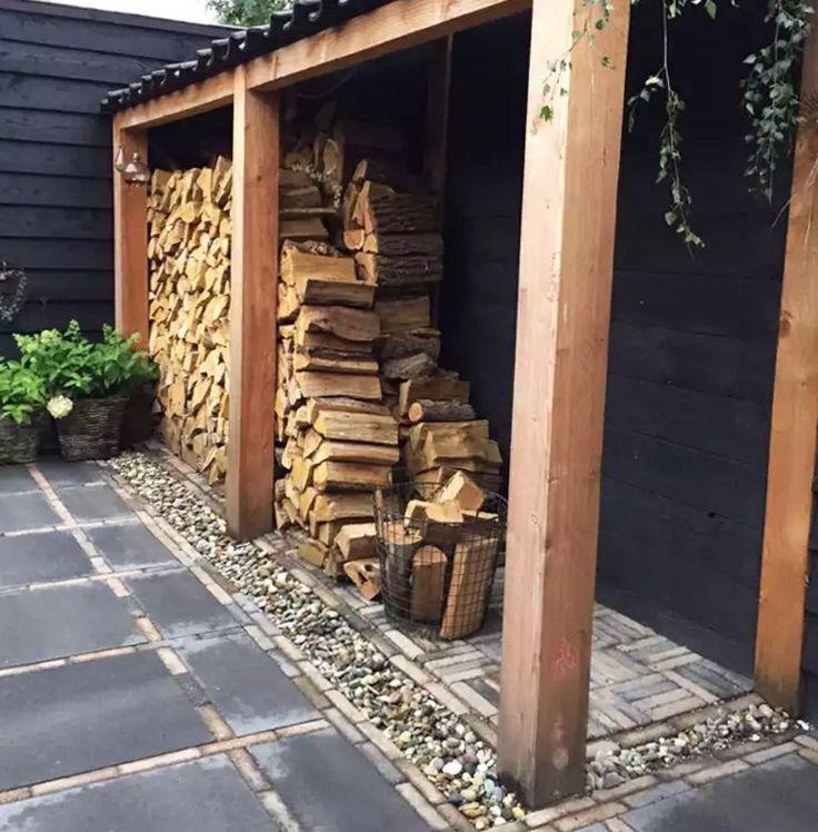 Поленница для дров: хранилище «золотого запаса» бани