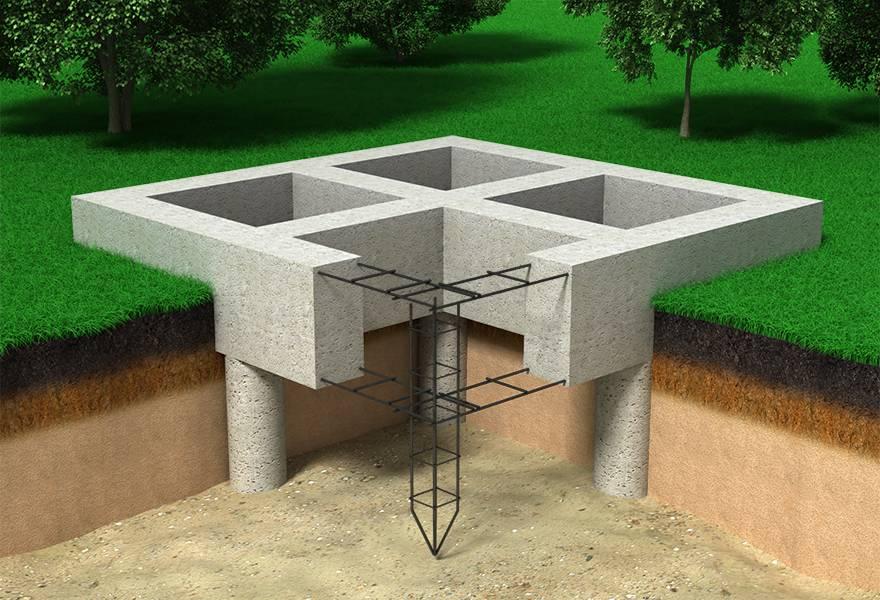 Свайно-ростверковый фундамент: все плюсы и минусы технологии