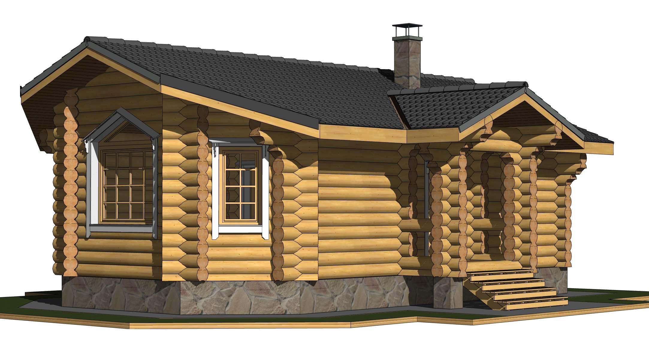 Баня из цилиндрического бревна, особенности материала и проекта баня из цилиндрического бревна, особенности материала и проекта