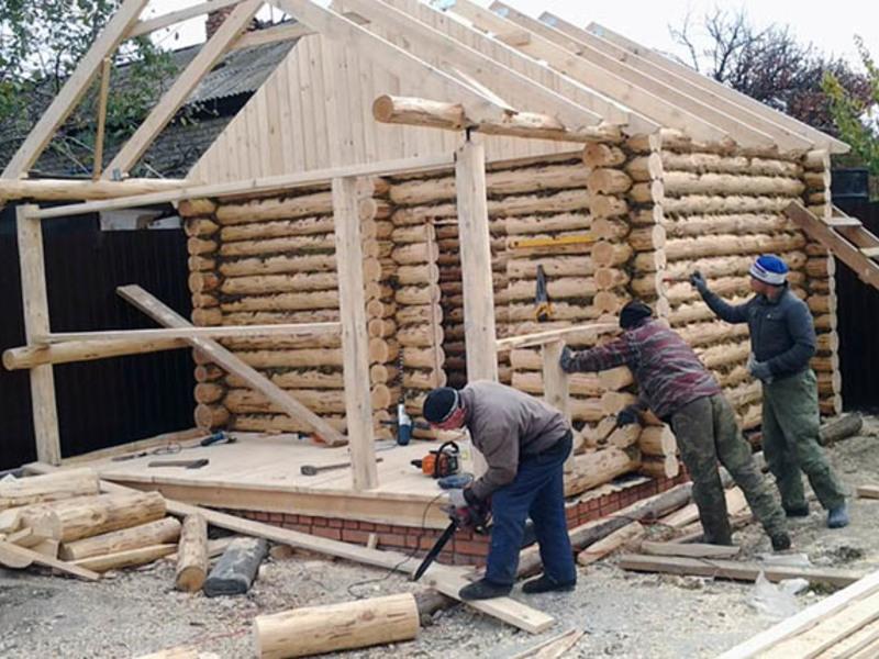 Из чего строить баню: плюсы и минусы популярных материалов