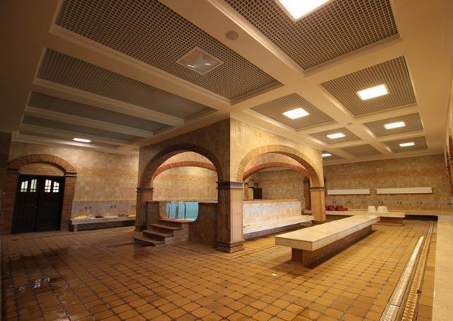 Проекты общественных бань на 50 человек - строим баню или сауну