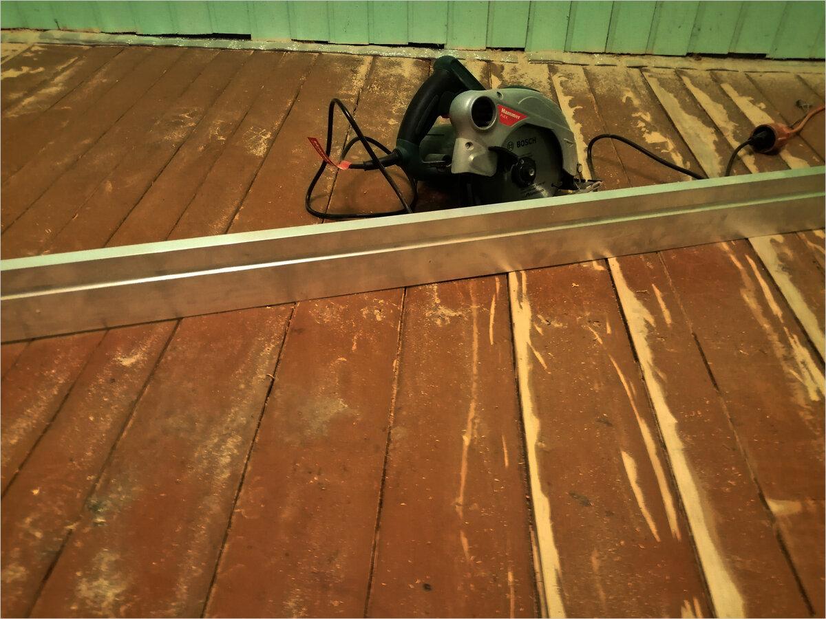 Выравнивание деревянного пола под ламинат своими руками - инструкция!