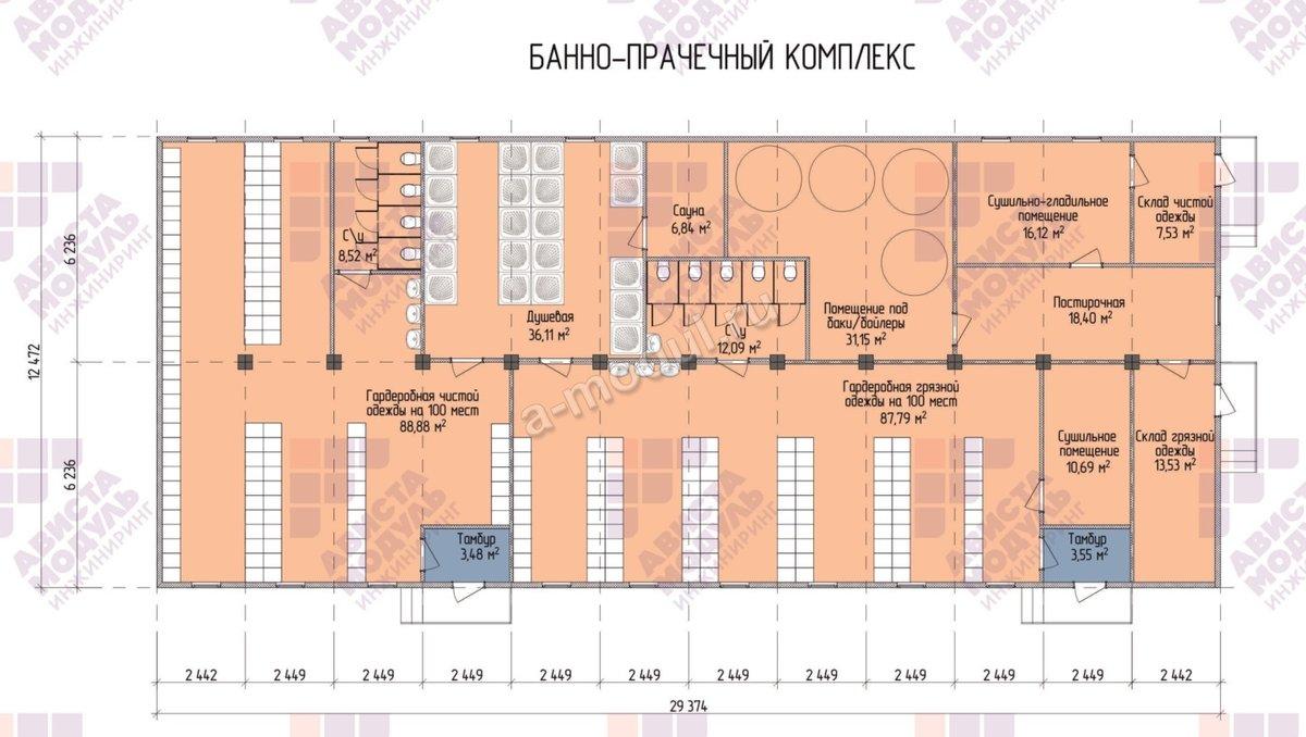 Бизнес план общественной бани с расчетами