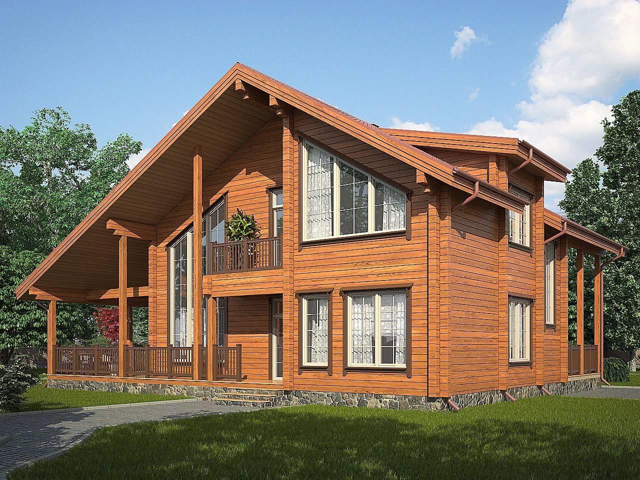 Строительство домов из клееного бруса: разбор самого высокотехнологичного направления загородного строительства