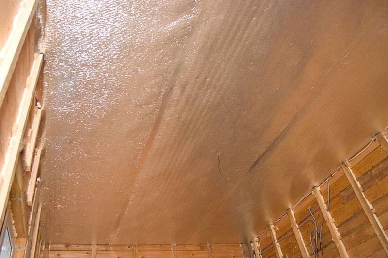 Пароизоляция потолка
