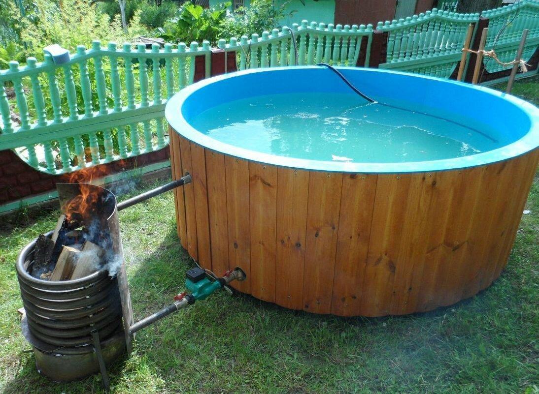 Виды нагревательного оборудования для уличных бассейнов