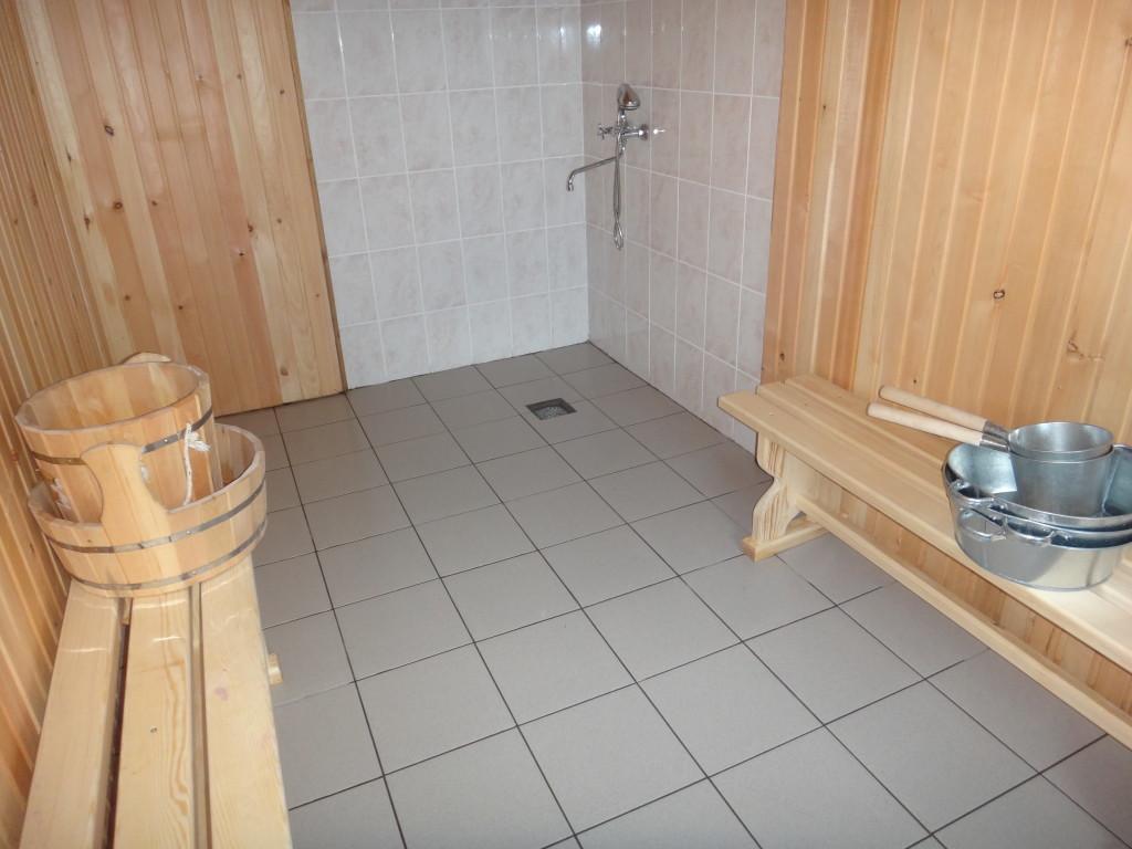 Отделка помывочной [моечной] в бане: дизайн интерьера
