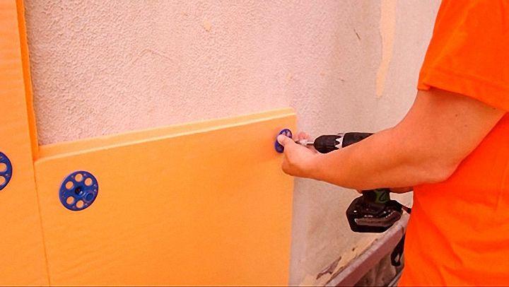 7 способов крепления пеноплекса к стенам