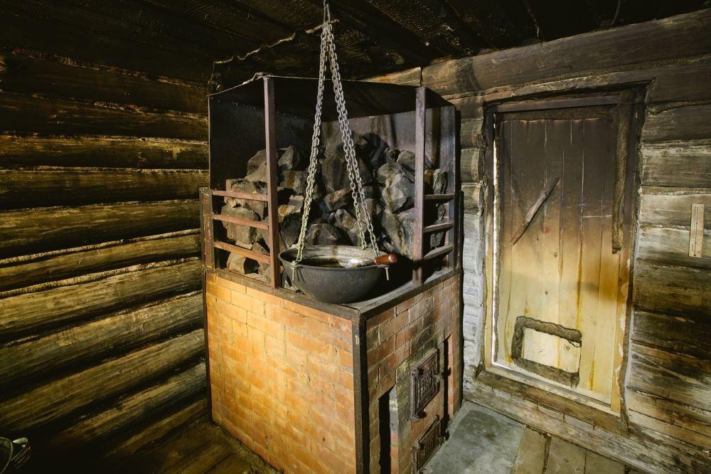 Баня по-черному своими руками: особенности постройки   построить баню ру
