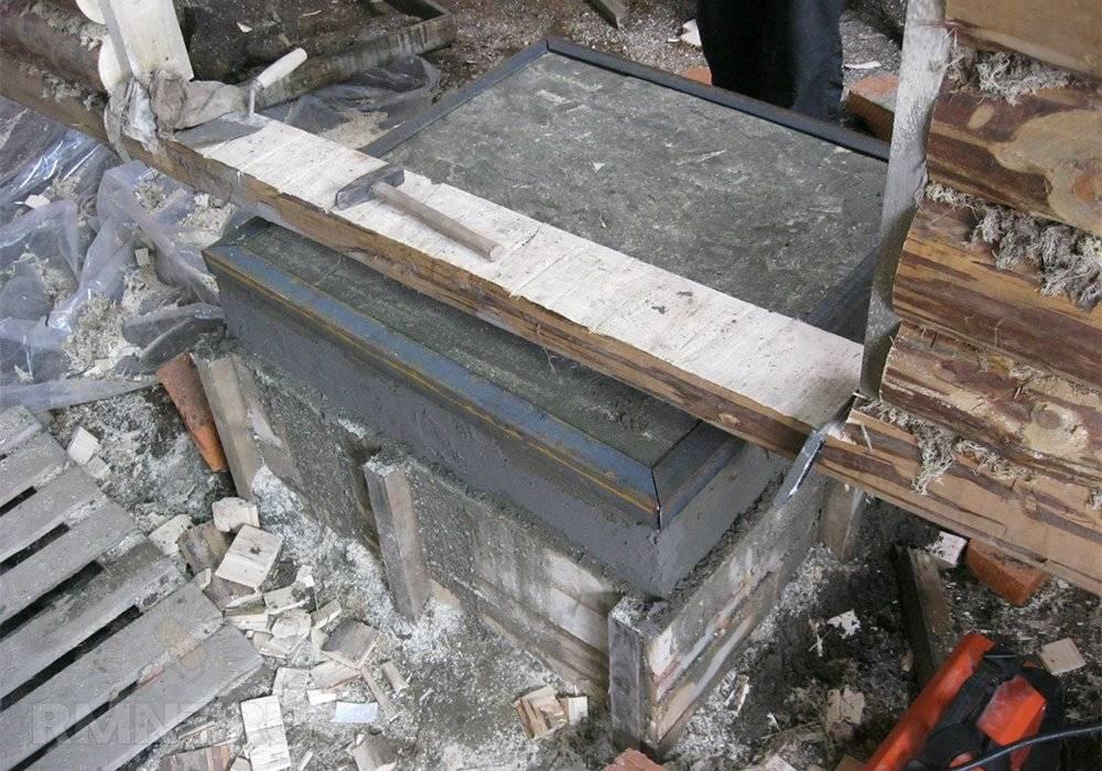 9 этапов строительства фундамента в баню под печь [+обзор основных материалов]
