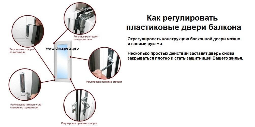 Регулировка пластиковых окон своим руками пошаговая инструкция