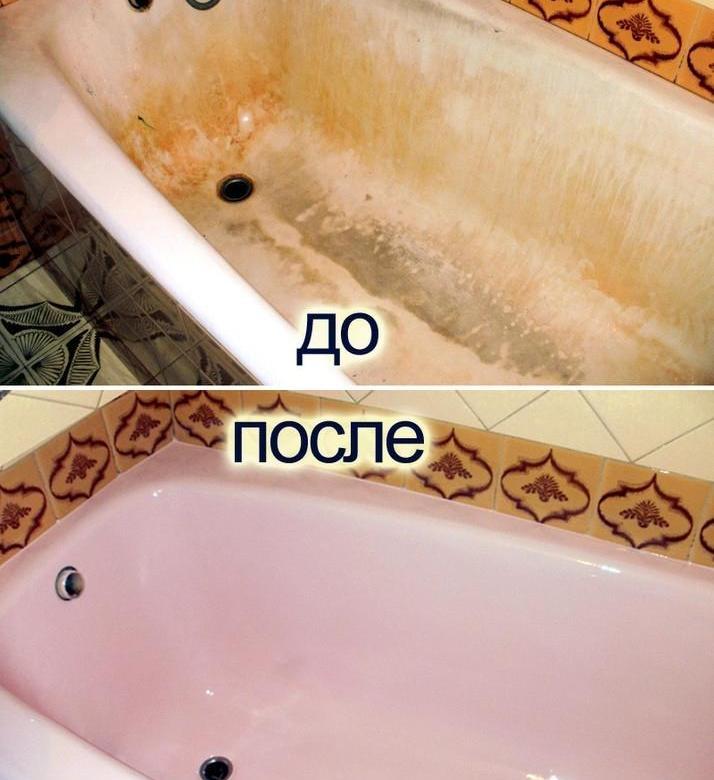 Покраска ванны акрилом своими руками - отличный способ реставрации своими руками
