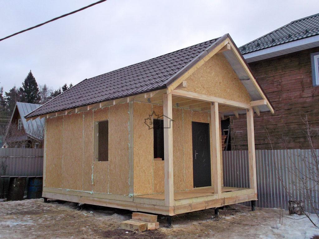 Особенности постройки дома и бани из сип панелей