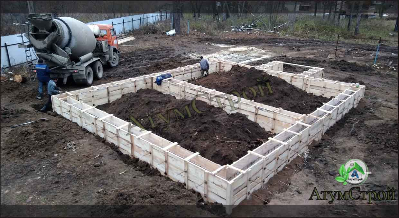 Cтроительство дома из керамзитобетонных блоков своими руками