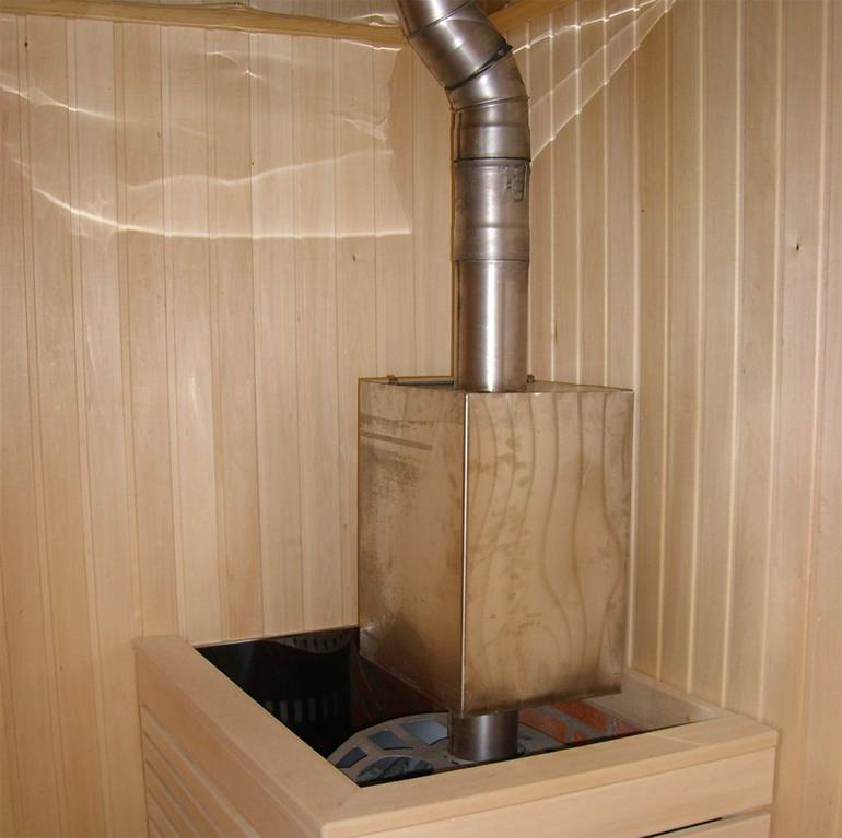 Безопасный дымоход для бани своими руками пошагово