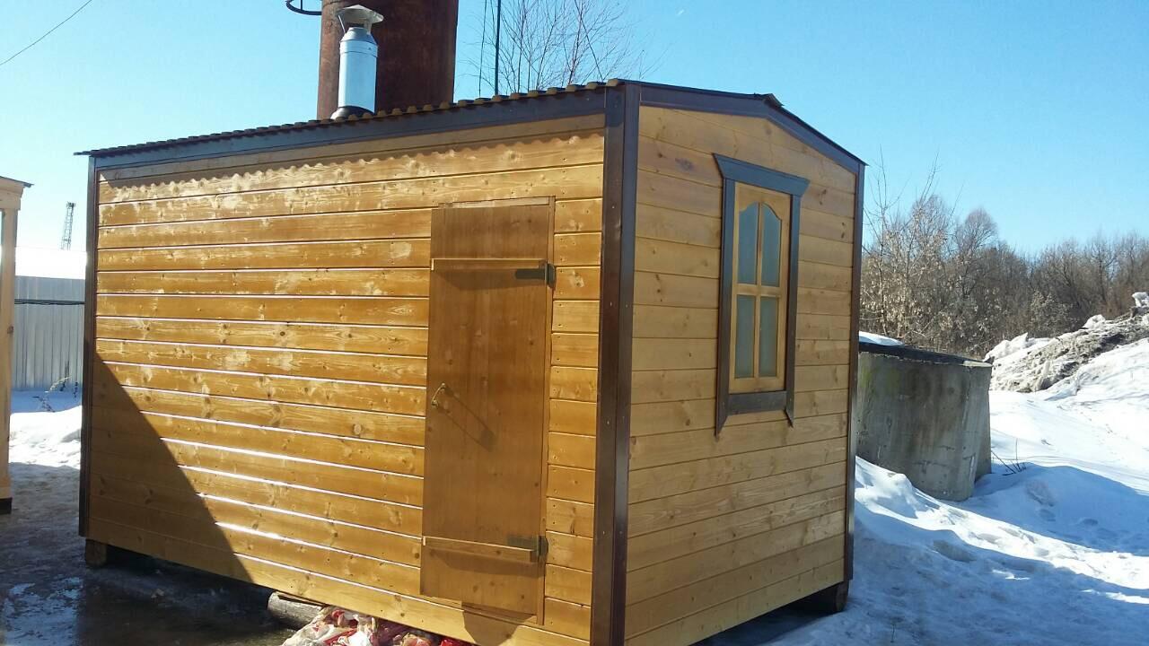 Баня вагончик— бюджетный и вполне доступный вариант для дачника