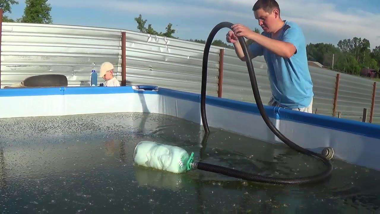 Как очистить воду в бассейне - строим баню или сауну