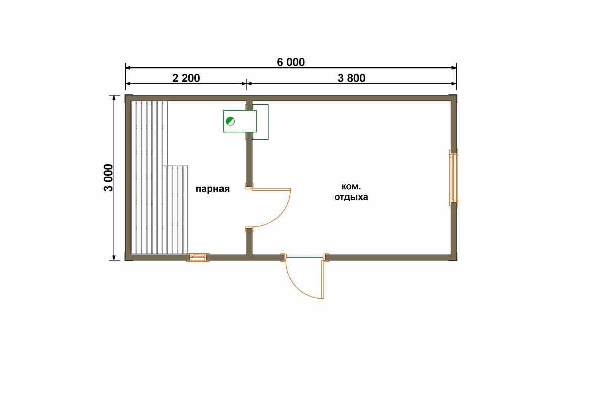 Строительство каркасной бани: проектирование и особенности возведения