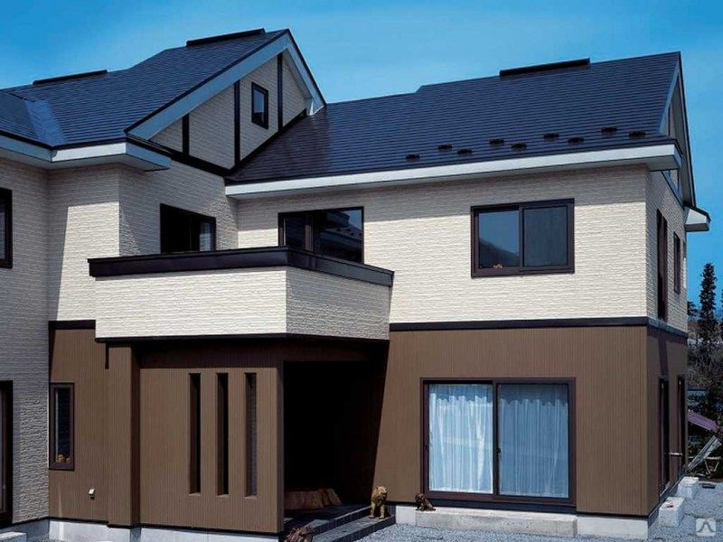 Фиброцементные панели для наружной отделки дома: удобство и практичность