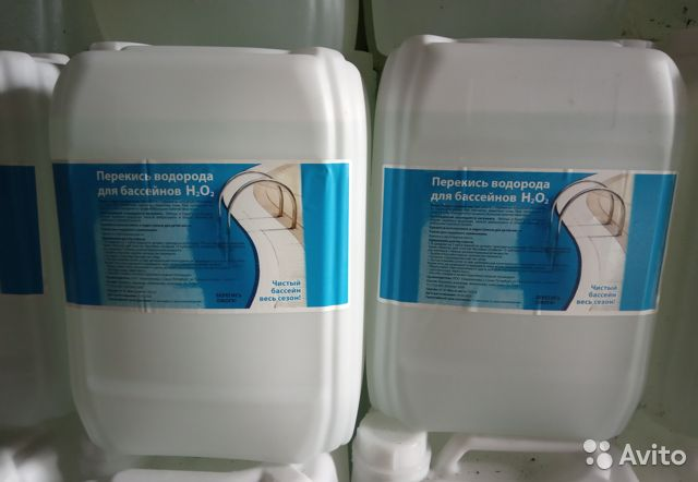 Какую перекись водорода надо добавлять в бассейн: какой процент подходит, какую лучше и можно использовать, как нужно заливать?