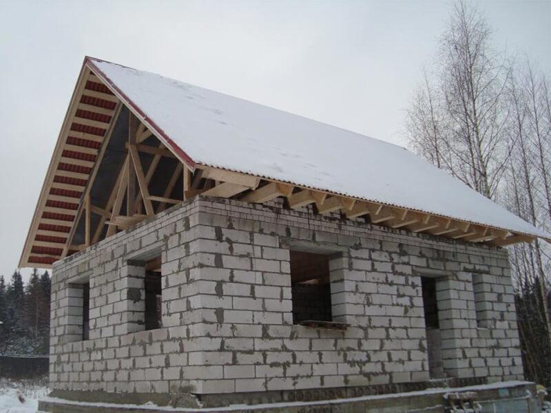 Баня из пеноблоков проекты и фото, 6х4 с мансардой, поэтапное строительство своими руками