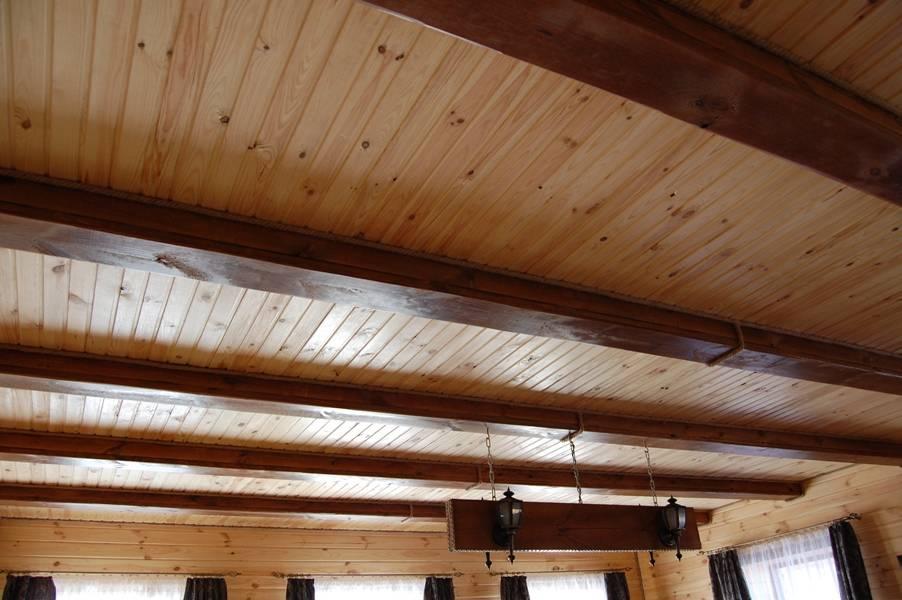 Деревянный потолок своими руками: эксклюзивный вариант