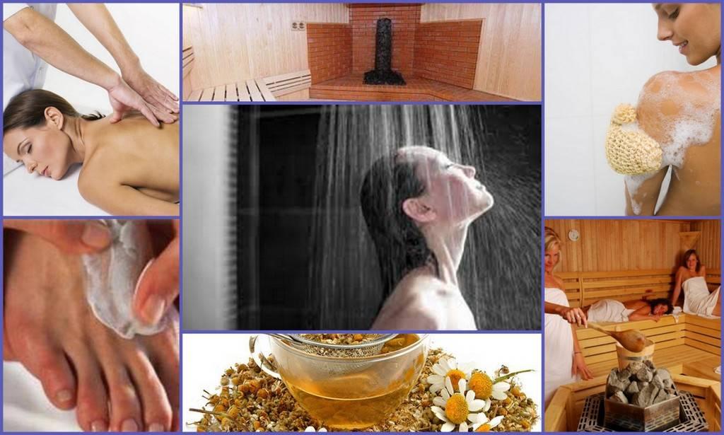 6 правил посещения бани при остеохондрозе