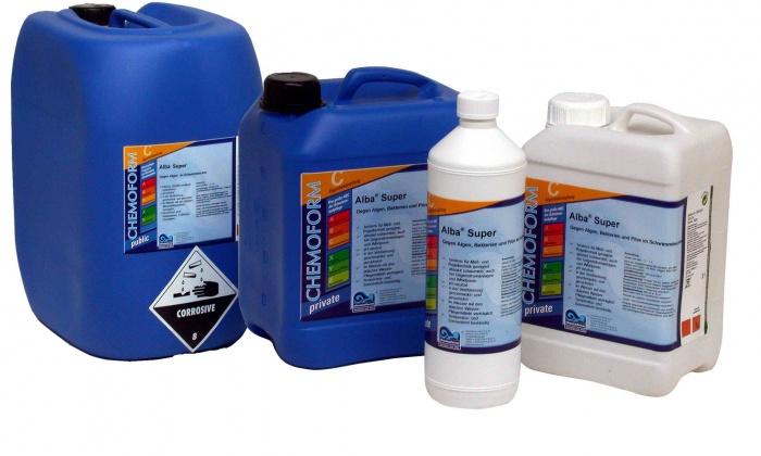 Химия для бассейна: какую выбрать для осветления воды, и что станет защитой от водорослей