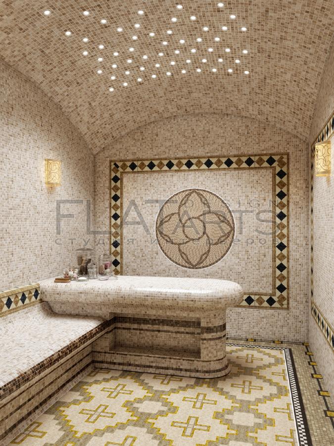 Утепление стен и лежаков в турецкой бане. укладка теплых полов