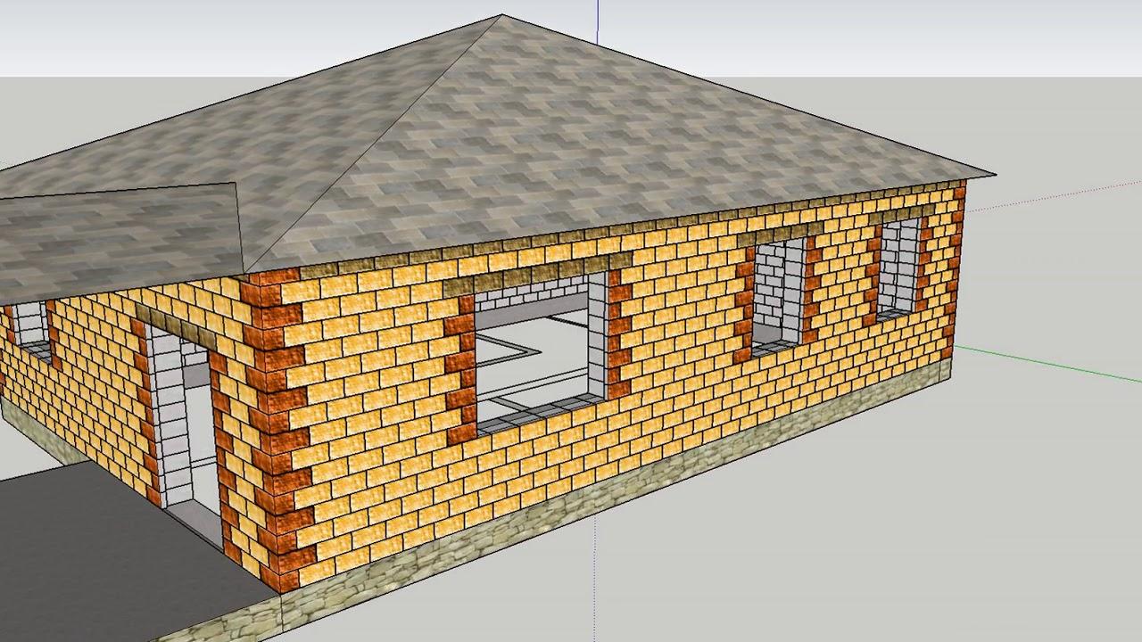 Технология «теплостен» — строительство дома из блоков