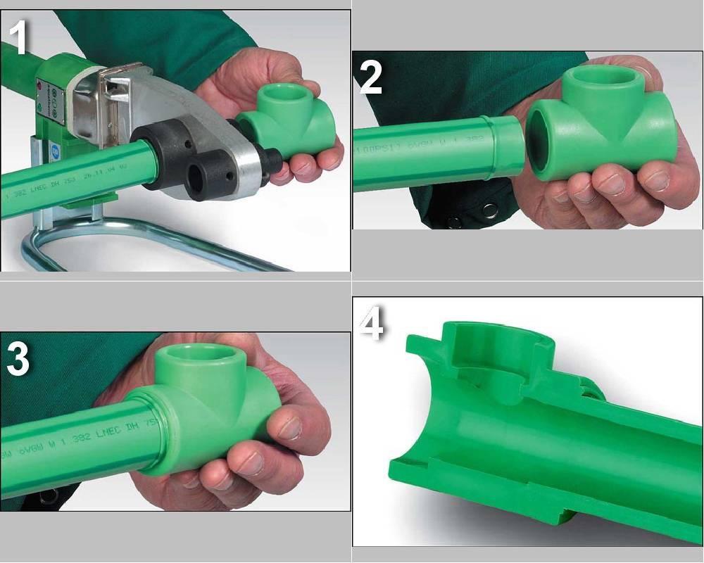 Как правильно паять полипропиленовые трубы своими руками