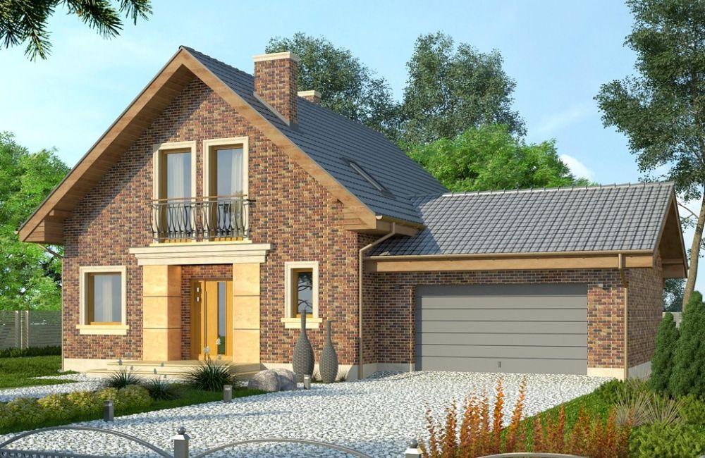 Дом с гаражом под одной крышей: красивые проекты для жизни от которых сложно отказаться (фото)