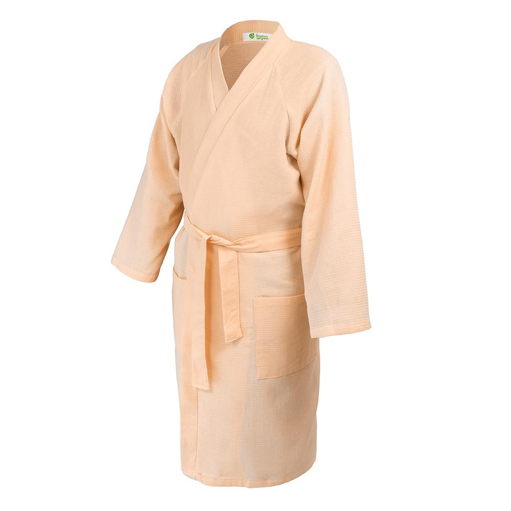 Вафельный халат для бани – комфорт и красота в одном «флаконе»!