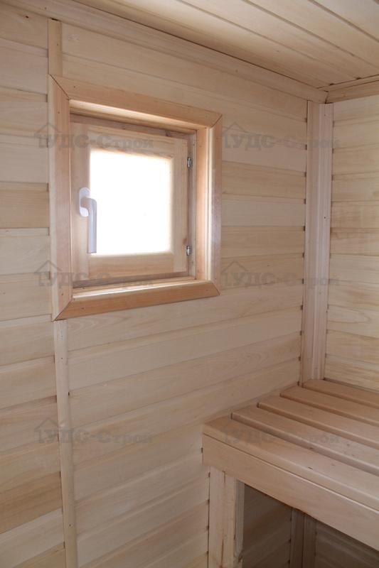 Все о деревянных окнах для бани: от конструкционных особенностей до пропиток