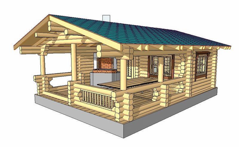 Баня совмещенная с беседкой: варианты проектов, материалы, размеры, оформление