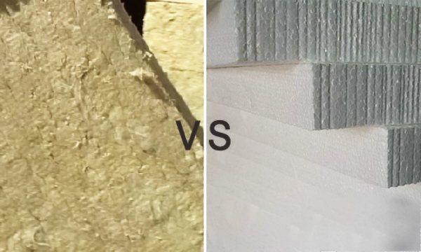 Пенопласт или минвата: что лучше для утепления и почему?
