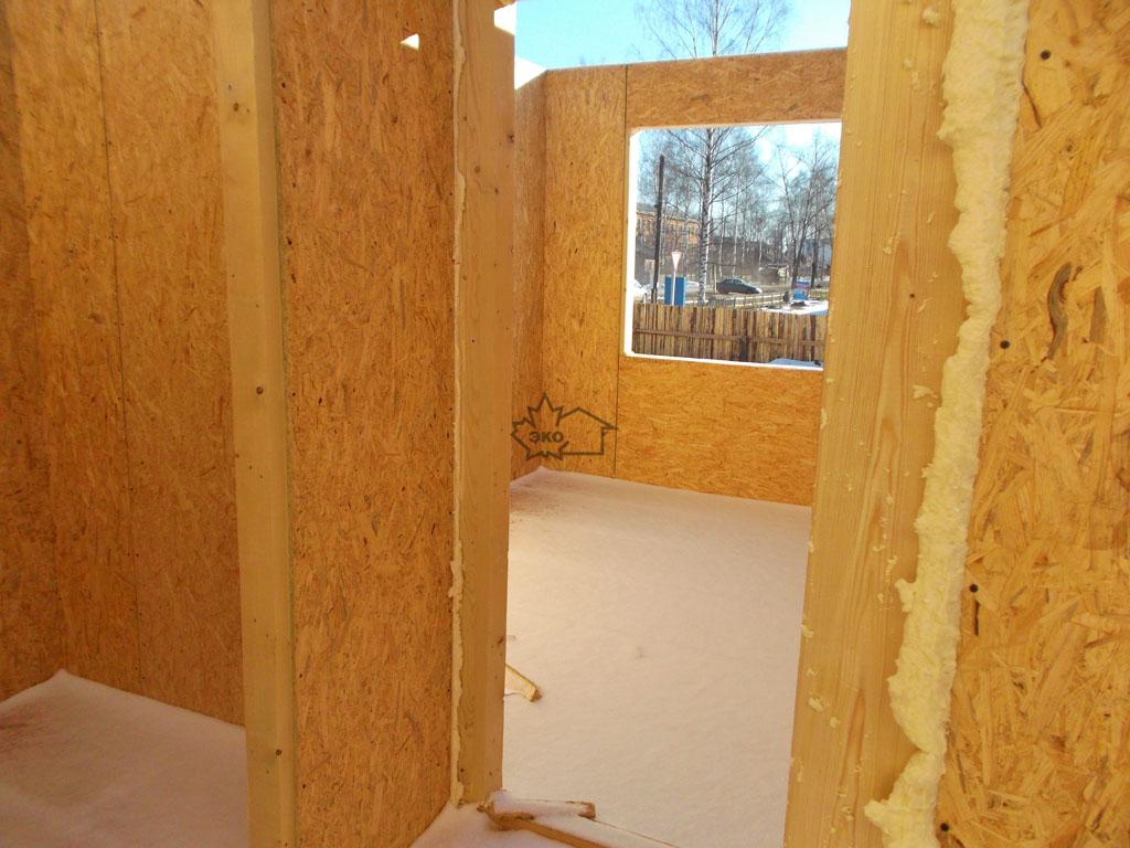 Строительство дома из сип панелей своими руками