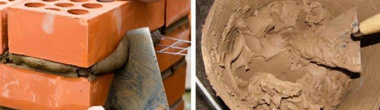 Раствор для кладки печей, топок, печной. состав, приготовление, пропорции. приготовить, смешать, класть.