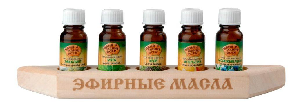 Отвары, настои, эфирные масла для сауны и бани
