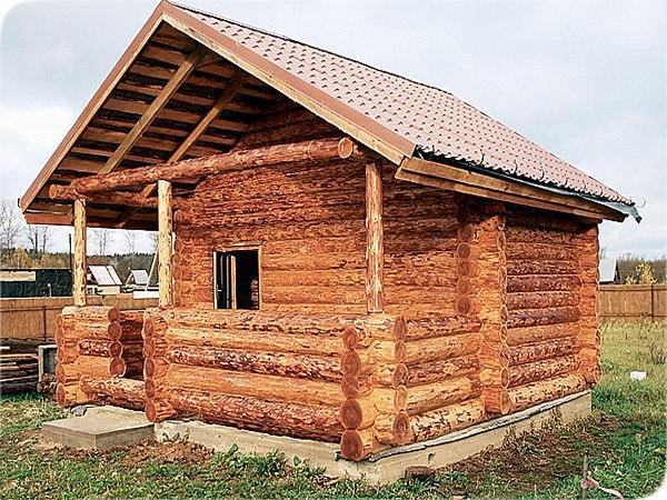 Из чего лучше построить баню на даче?